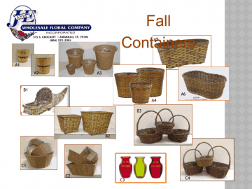 2013 Fall Containers